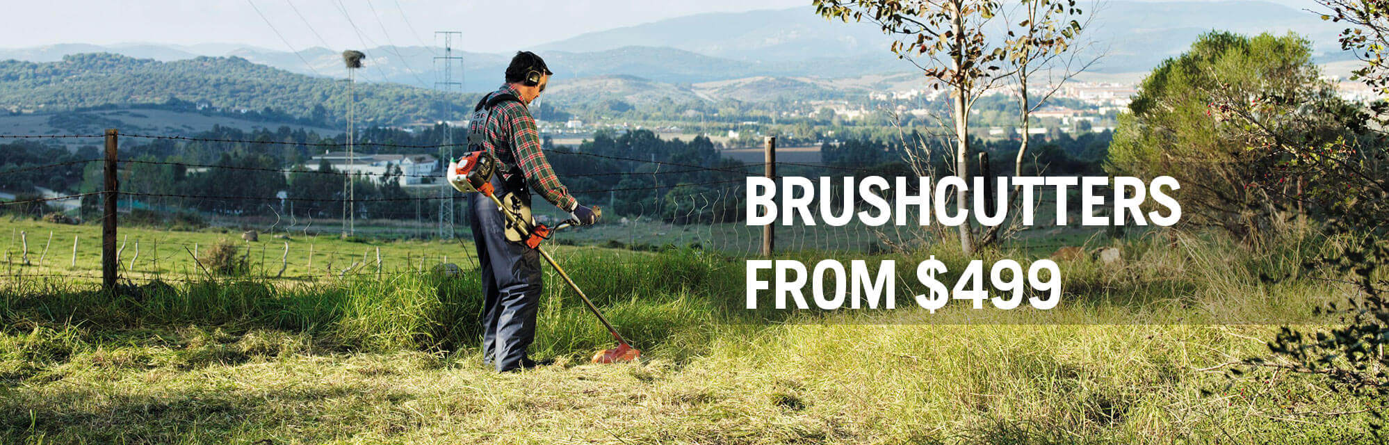Spring Brushcutters